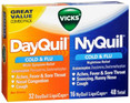 DayQuil / NyQuil Cold & Flu LiquiCaps Combo Pack 48 ct -Catalog