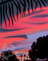 Ewa Beach Sunset By Shannon O'Connell