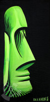 Green Tiki By Shannon O'Connell