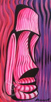 Pink Tiki By Shannon O'Connell