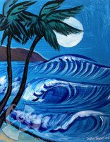 Moonlight Surf By Drew Toonz