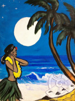 Moonlight Prayer By Drew Toonz