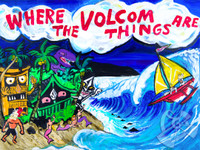Where The Volcom Things Are By Drew Toonz
