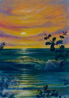 Sunset Memory By Clark Takashima