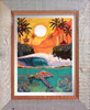 Warm Waters Limited Edition Collage By Patrick Parker