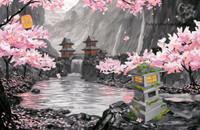 Sakura Collage -Sakura Series #5  by Patrick Parker