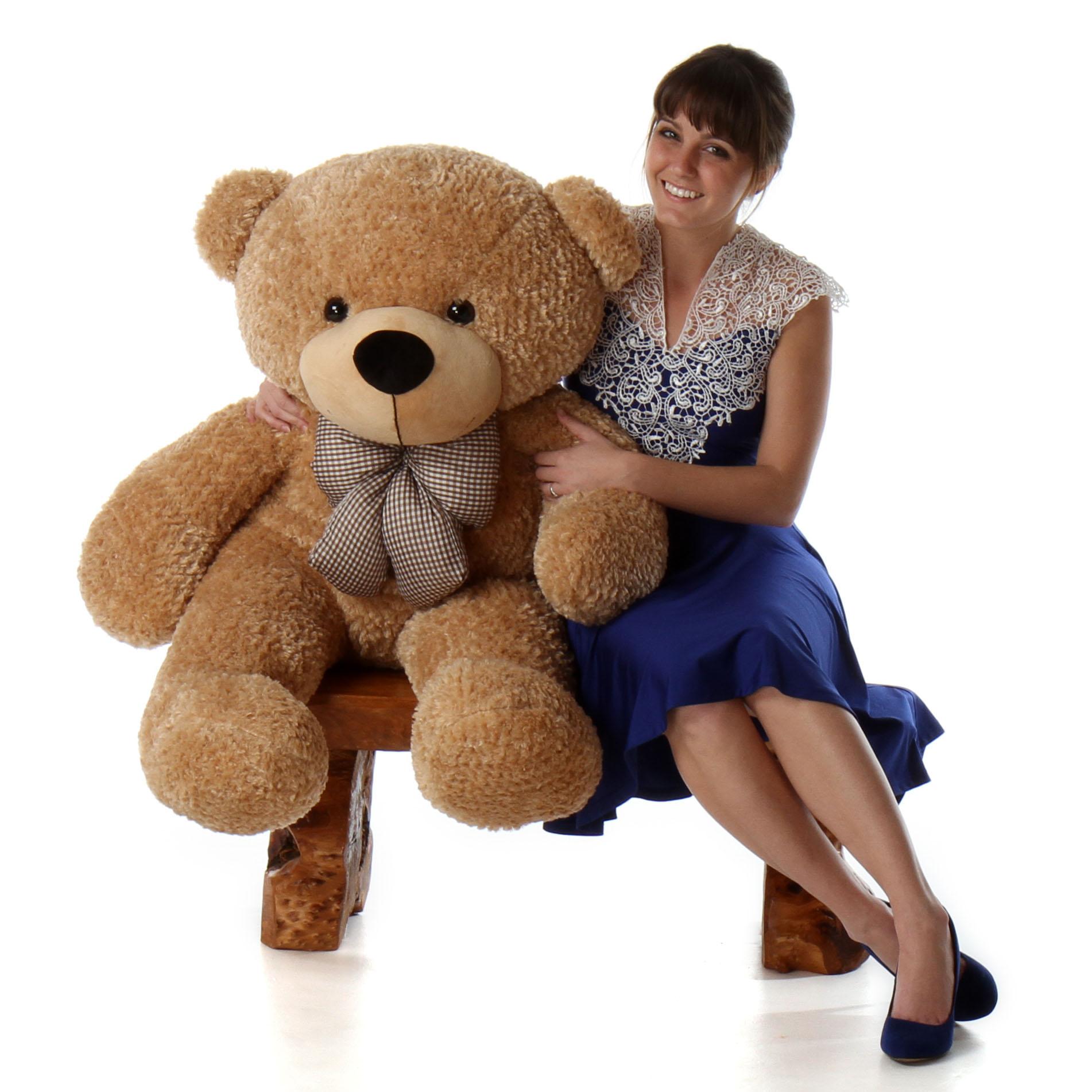 4ft-life-size-teddy-bear-shaggy-cuddles-soft-amber-brown-fur.jpg