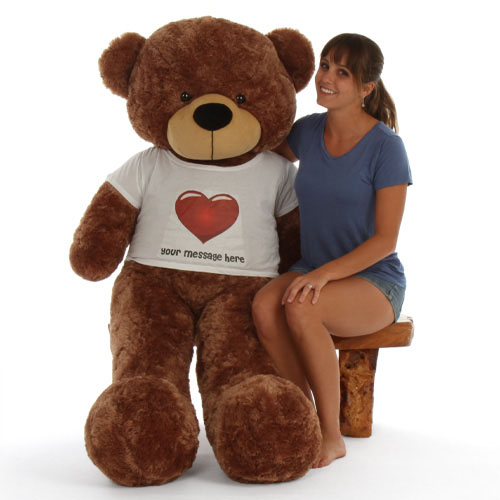 5ft-life-size-personalized-mocha-teddy-bear-sunny-cuddles-in-red-heart-shirt.jpg