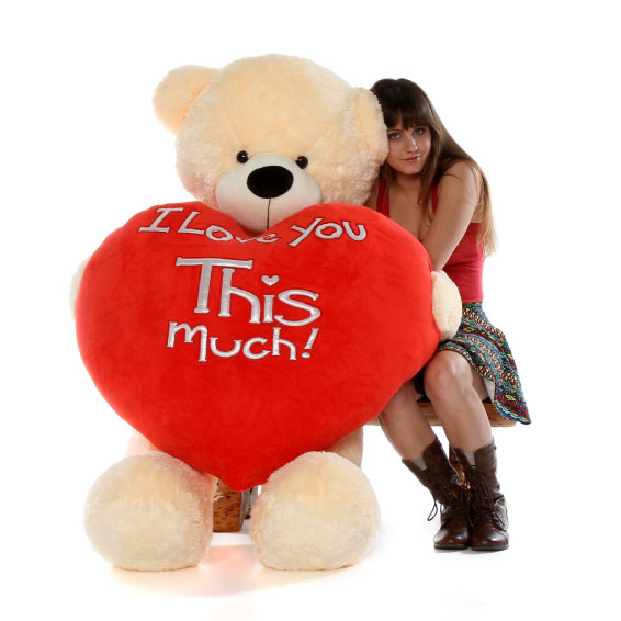 60in-life-size-huge-teddy-bear-cozy-cuddles-cream-fur-holding-jumbo-red-heart-pillow.jpg