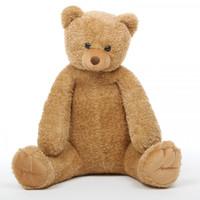 Honey Tubs amber brown teddy bear 32in