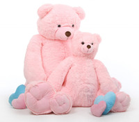 Darling Tubs pink teddy bear 52in