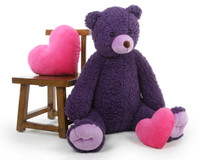 Spread Big Teddy Bear love when you send Violet to someone special!