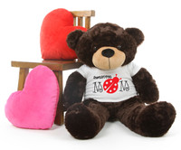 Brownie M Cuddles Brown Mothers Day Teddy Bear Gift 38in
