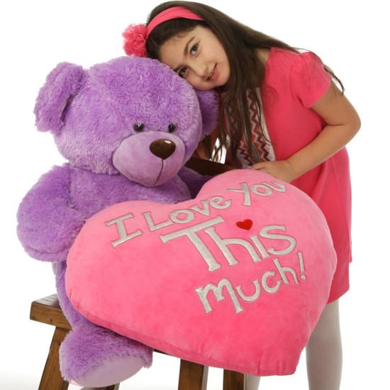 Purple Sewsie Big Love 30in (Big Hug)