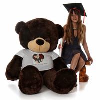 6ft Giant Graduation Teddy bear