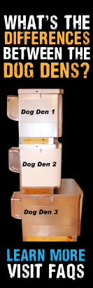 What is the difference between our dog dens and doghouses?