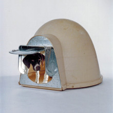 & Igloo Dog Door | Dogloo XT Doghouse | Chew-Proof Dog Door