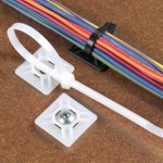 "Mounting Cable Tie Base Pad 1.0"" x 1.0"""