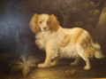 'A Spaniel in a Landscape' NOT by John Gray in the manner of Stubbs
