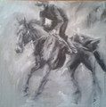 RaceHorse Study I by Debbie Harris
