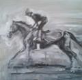 RaceHorse Study II by Debbie Harris