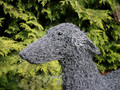 Graceful Sighthound Sculpture by Paula Joule Blake