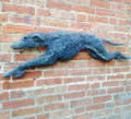 Greyhound Wire Wall Hanging Sculpture II by Paula Joule Blake
