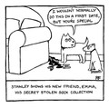 You're Special!  Personalised 'Off the Leash' print by Rupert Fawcett