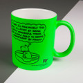 Personalised - Pace Myself This Week - Off the Leash' Neon Mug by Rupert Fawcett