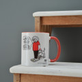 I Don't Beleive It!  - Off the Leash' Coloured Mug by Rupert Fawcett