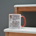 Time to Party!  - Off the Leash' Coloured Mug by Rupert Fawcett