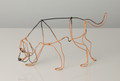 Wire Sculpture of Bloodhound by Bridget Baker