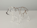 Wire Sculpture of Bulldog by Bridget Baker