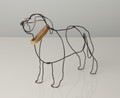 Newfoundland Wire Sculpture by Bridget Baker