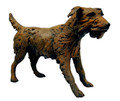 Standing Terrier Sculpture by Dido Crosby
