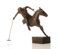 Line of the Ball Polo Sculpture by Marie Ackers
