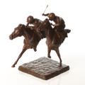 Racing Sculpture The Finishing Line by Marie Ackers