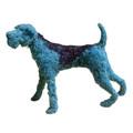 Evian Dog Sculpture by Dominic Gubb