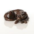 Sleeping Greyhound Sculpture by Tim Howard