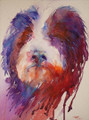 We Are Not Amused! Watercolour Painting by Jean Haines