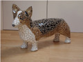 Corgi Mosaic Dog Sculpture by Sue Edkins