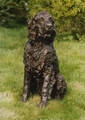 William a Lifesized Gordon Setter Sculpture by Rosemary Cook