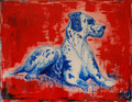Harlequin Great Dane by Diane Haddon-Moore