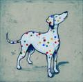 Damien Hirst's Dog by Mychael Barratt