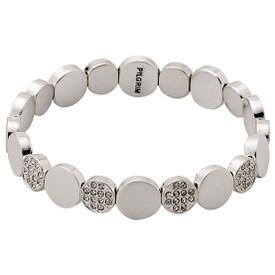 Pilgrim Crystal Stones Bracelet Silver Plated Crystal 601636062