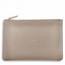 Katie Loxton 'In The Bag' Perfect Pouch/Clutch Bag Oyster Grey