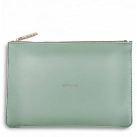 Katie Loxton 'Ooh La La' Perfect Pouch/Clutch Bag Mint Green