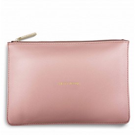 Katie Loxton 'Pretty In Pink' Perfect Pouch/Clutch Bag Perfect Pink