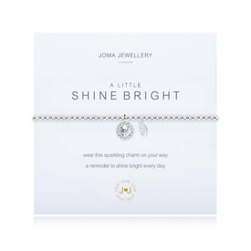 Joma A Little Shine Bright Bracelet Silver Bracelet + Gift Bag/Tag