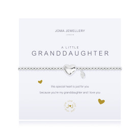 Joma Jewellery A Little GrandDaughter Silver Plated  Bracelet